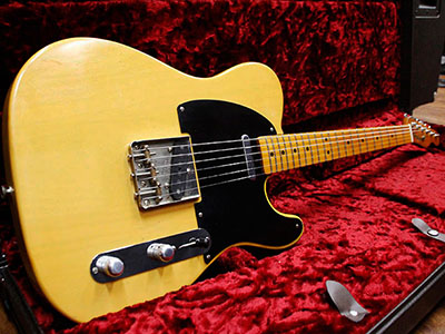 Fender USA American Vintage '52 Telecaster Butter Scotch Blondのサムネイル