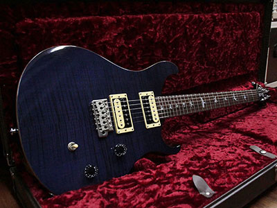 Paul Reed Smith(PRS) SE Custom24 Flame Top Trans Purpleのサムネイル