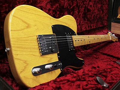 Fender Japan TL52-SPL Original Humbucker Vintage Natural のサムネイル