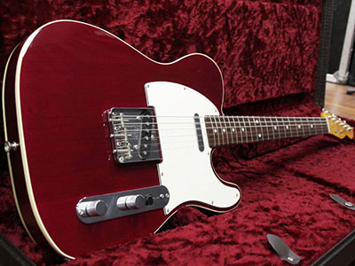 Fender Japan Telecaster Custom Double Binding  Cherryのサムネイル