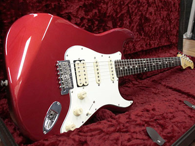 Fujigen Neo Classic Stratocaster Candy Apple Redのサムネイル