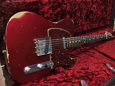 Fender Custom Shop 2017 NAMM Show Limited Edition 1963 Telecaster Relic Candy Apple Red(CAR)のサムネイル