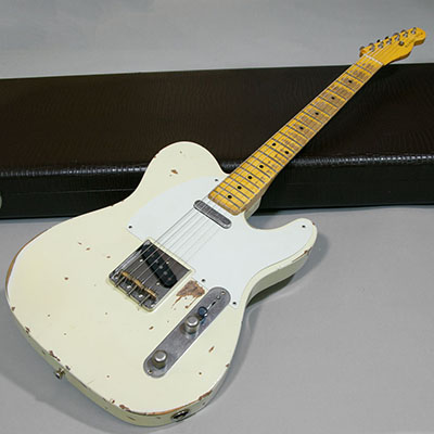 Nash Guitars T-57 Olympic White Aged 2011のサムネイル