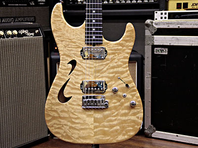 T's Guitars DST-22 Hollow Drop Top のサムネイル
