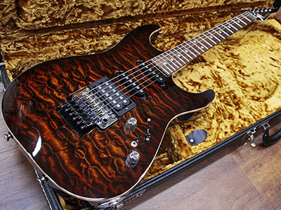 Tom Anderson Drop Top Burnished Orange Burstのサムネイル