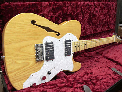 Fender Mexico Telecaster Thinline Naturalのサムネイル