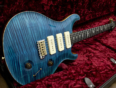 Paul Reed Smith(PRS) Custom 22 Soapbar 3Pickups Artist Package Blue Matteoのサムネイル