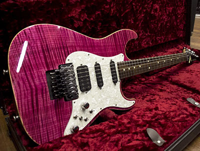 Tom Anderson Drop Top Classic Cajun Magenta with Bindingのサムネイル