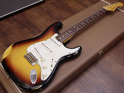 Fender Custom Shop 1960 Stratocaster Relic 3TSのサムネイル