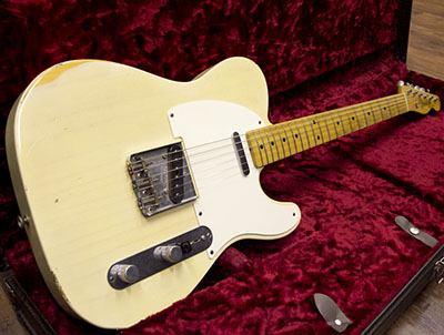 Fender Custom Shop 1959 ESQUIRE Relic Vintage Blonde Telecaster Conversionのサムネイル