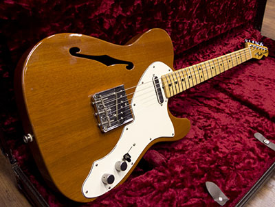 Fender Custom Shop Master Built 69 Thinline Mahogany by Louis Salgadoのサムネイル