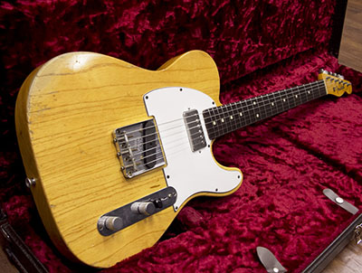 Fender Custom Shop  1959 Telecaster Relic Naturalのサムネイル