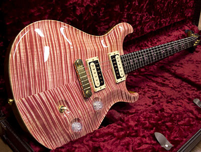 Paul Reed Smith(PRS) Private Stock Custom 24 Korina McCarty Thickness Faded Pink のサムネイル