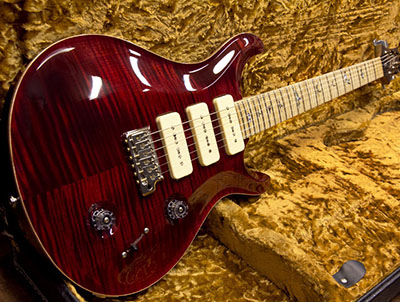 Paul Reed Smith(PRS) KID Limited Custom 22 Soapbar 3Pickups Black Cherryのサムネイル