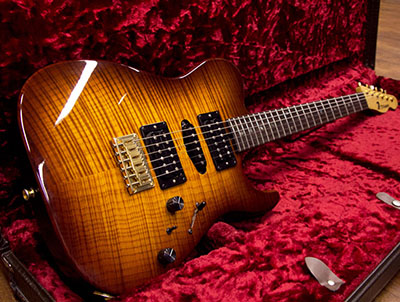T's Guitars DTL-22 Brown Sunburst のサムネイル