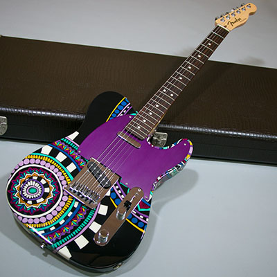 Fender Custom Shop Master Built Artistry Telecaster by Greg Fessler Art Work by Madison Royのサムネイル