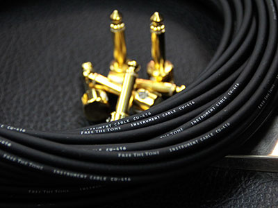 Free The Tone Solderless Cable Kit (L Plug/Gold)のサムネイル