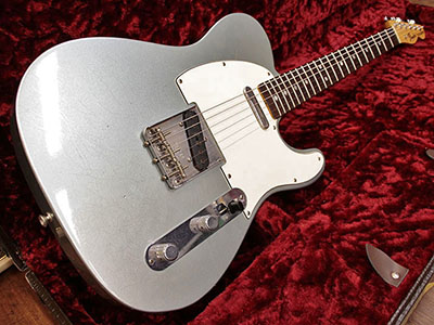 Fender Custom Shop 1967 Telecaster Closet Classic Firemist Silver Limited Editionのサムネイル