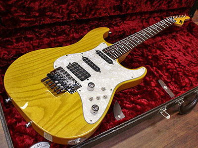 ESP Custom Order Stratocaster Amber -Tom Anderson Specのサムネイル
