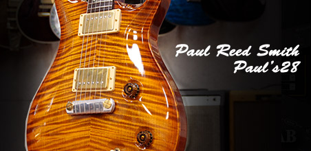 Paul Reed Smith(PRS) Private Stock Paul's 28です。